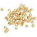 CLOU BOMBÉ GOLD 6.5 mm