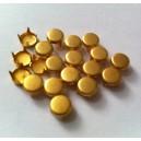 CLOU PLAT FROST GOLD 6.5 mm