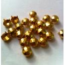 CLOU  6.5 mm BOMBÉ FACETTES GOLD