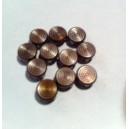 CLOU  6.5 mm CIBLE BRONZE