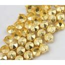 CLOU FACETTES GOLD 9 mm