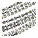 BANDE STRASS CRYSTAL A COUDRE