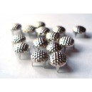 CLOU petits boutons SILVER 9 mm